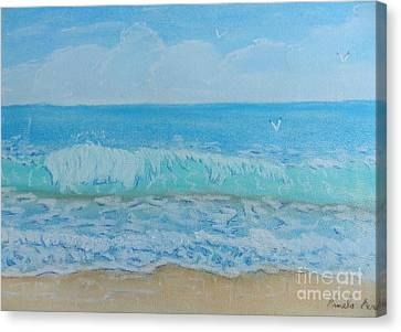 Lovely Summer Waves Canvas Print