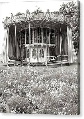Canvas Print featuring the photograph Lovers Carousel by Colleen Williams