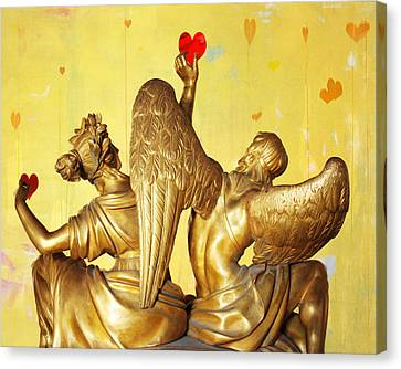 Love's Angel  C2014 Canvas Print