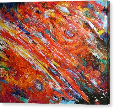 Loves Fire Canvas Print by Michael Durst