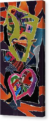 Love's It Canvas Print by Kenneth James