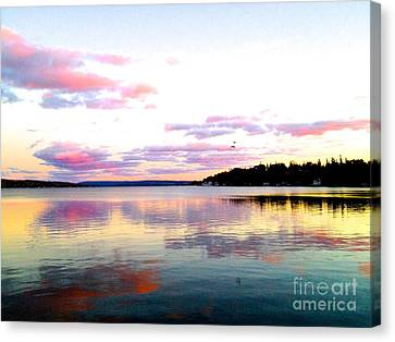 Love's Sky Canvas Print by Margie Amberge