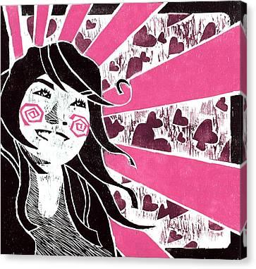 Lovestruck Canvas Print by Vanessa Baladad
