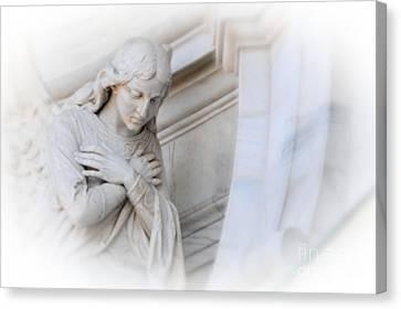 Loving Angel Canvas Print by Kathleen Struckle