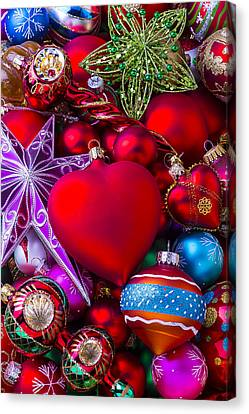 Loving Christmas Canvas Print by Garry Gay