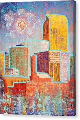 Loving It In Denver Canvas Print