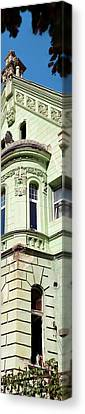 Romania Canvas Print - Low Angle View Of A Building, Brasov by Panoramic Images