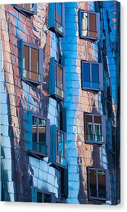Low Angle View Of A Building, Neuer Canvas Print