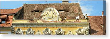 Romania Canvas Print - Low Angle View Of A Building, Sibiu by Panoramic Images