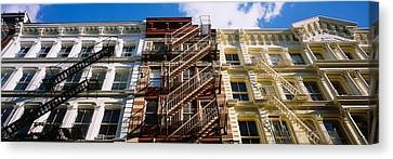 Fire Escape Canvas Print - Low Angle View Of A Building, Soho by Panoramic Images