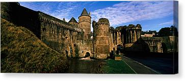 Low Angle View Of A Castle, Chateau De Canvas Print by Panoramic Images