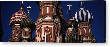 Low Angle View Of A Church, St. Basils Canvas Print by Panoramic Images