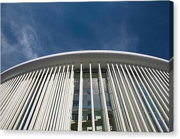 Low Angle View Of A Concert Hall Canvas Print by Panoramic Images