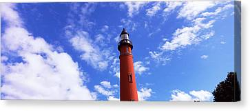Low Angle View Of A Lighthouse, Ponce Canvas Print