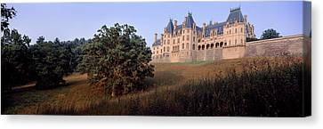 Low Angle View Of A Mansion, Biltmore Canvas Print by Panoramic Images