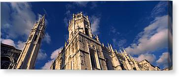 Low Angle View Of A Monastery, Mosteiro Canvas Print by Panoramic Images