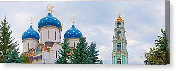 Russian Cross Canvas Print - Low Angle View Of A Monastery, Trinity by Panoramic Images