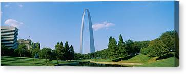 Low Angle View Of A Monument, St Canvas Print