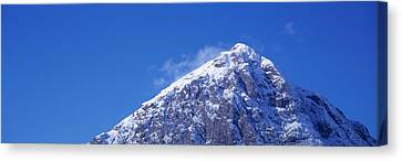 Low Angle View Of A Mountain Canvas Print by Panoramic Images