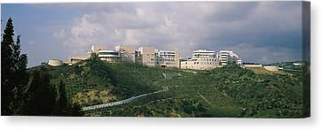 Getty Canvas Print - Low Angle View Of A Museum On Top by Panoramic Images