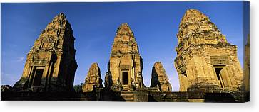 Low Angle View Of A Temple, Pre Rup Canvas Print by Panoramic Images