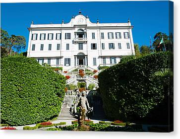 Low Angle View Of A Villa, Villa Canvas Print by Panoramic Images