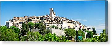 Low Angle View Of A Walled City, Saint Canvas Print by Panoramic Images