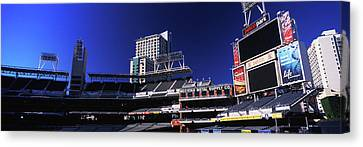 Low Angle View Of Baseball Park, Petco Canvas Print