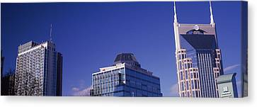 Downtown Nashville Canvas Print - Low Angle View Of Buildings, Nashville by Panoramic Images
