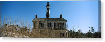 Low Angle View Of Cape Lookout Canvas Print by Panoramic Images