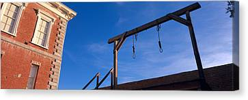 Punishment Canvas Print - Low Angle View Of Gallows, Tombstone by Panoramic Images