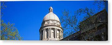 Low Angle View Of State Capitol Canvas Print by Panoramic Images