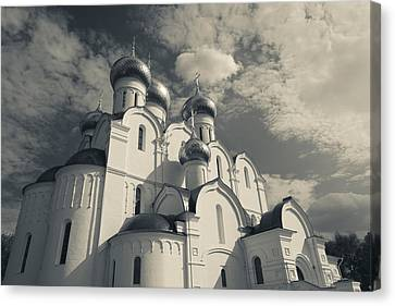 Russian Cross Canvas Print - Low Angle View Of The Uspenski by Panoramic Images