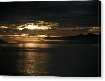 Low Cloud Canvas Print by Lee Stickels
