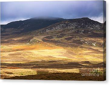 Low Cloud Over Highlands Canvas Print by Jane Rix
