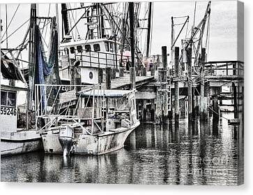 Low Country Small Craft Canvas Print by Scott Hansen