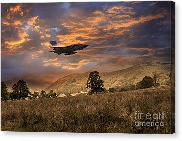 Low Level Tornado  Canvas Print by J Biggadike