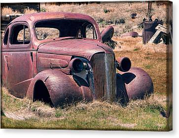 Canvas Print featuring the photograph Low Rider by Steven Bateson
