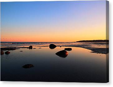 Low Tide Canvas Print by Andrea Galiffi