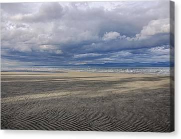 Low Tide Sandscape Canvas Print