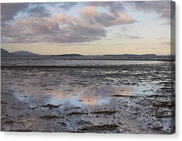 Low Tide Reflections Canvas Print by Priya Ghose