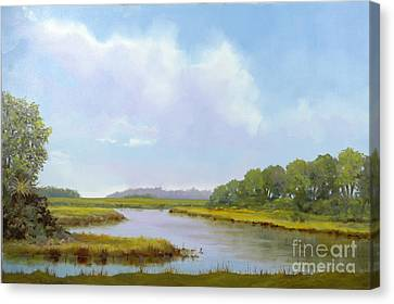 Lowcountry Afternoon Canvas Print by Glenn Secrest
