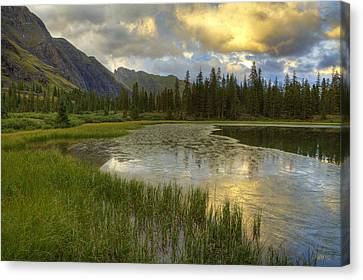 Lower Ice Lake Canvas Print