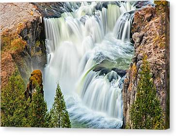 Lower Mesa Falls Canvas Print