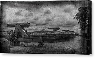 Lower River Batteries Fort Donelson Tennessee Canvas Print by Paul Freidlund