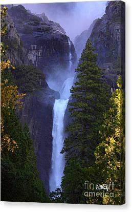 Lower Yosemite Falls Canvas Print by Patrick Witz