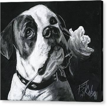 Loyal Love Canvas Print by Billie Colson