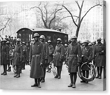 Lt. James Reese Europe's Band Canvas Print by Underwood Archives