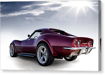 Sunburst Canvas Print - Lt1 Stingray by Douglas Pittman