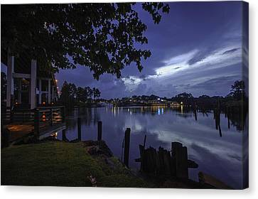 Lu Lu S Before The Storm Canvas Print by Michael Thomas